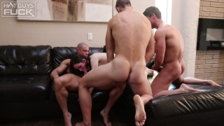 Sean Costin, Brady Corbin & Rob Burry at Hot Guys Fuck