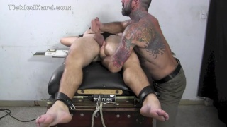 bound dillon at tickled hard