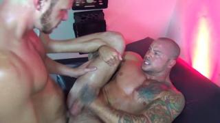 Brian Bonds & Sean Duran at raw fuck club