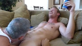 straight boy Sean at maverick men
