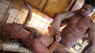 Trenton Ducati and Colton Grey at naked sword