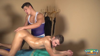 Shane Hirch and Jeffrey Lloyd at Twinks in Shorts