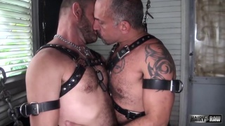 Jay Ricci and Bruce Bacch at Hairy and Raw