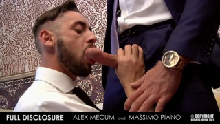 ALEX MECUM & MASSIMO PIANO at Men at Play