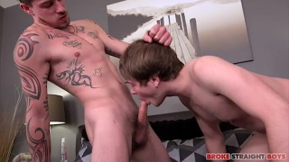 Ryan Fields and Romeo James at Broke Straight Boys