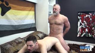 Tom Carlton and Vincent Viau at Bear Films -