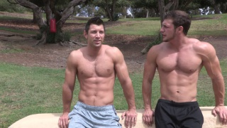 Brandon & Shaw Bareback at sean cody