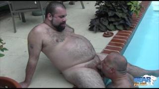 Cajun Bear and Wayne Daniels at bear films