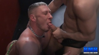 Tommy Deluca and Tyler Griz at breed me raw