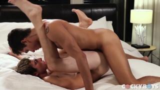 Ashton Summers and Benjamin Blue at cocky boys