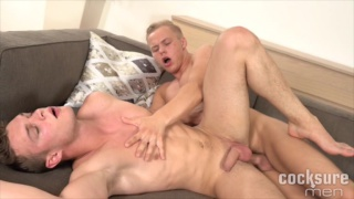 Peter Comely and Cody Donal at cocksure men