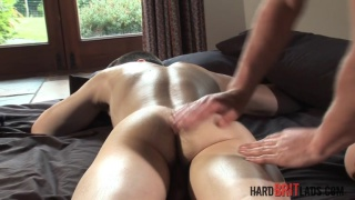 Jamie West and Billy Roberts at hard brit lads