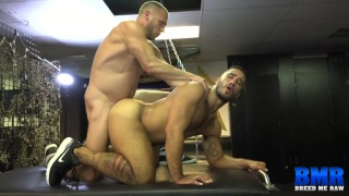 Hans Berlin fucks Trey Turner at breed me raw
