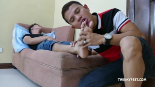 Rico and Alex at Twinky Feet