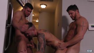 Brad Banks, Ashton McKay and Jake Ashford at Drill My Hole