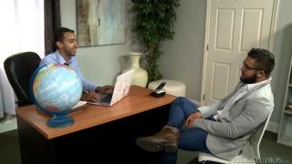 Mario Cruz and Jay Alexander at Pride Studios