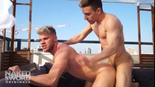 Ken Rodeo and Josh Milk at Naked Sword