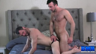 Mason Lear and Dusty Williams at Breed Me Raw