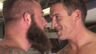 Aaron Bruiser and Alexander Motogazzi at BROMO