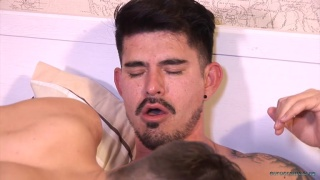 Dmitry Osten and CJ Michaels at eurocreme