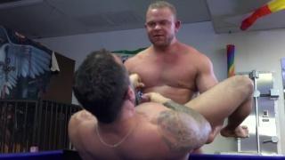 Daxton Ryker and Gabriel Fisk at breed me raw