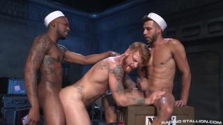 FX Rios, Bennett Anthony & Aaron Reese at Raging Stallion