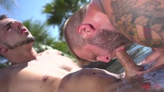colby jansen and aiden woods at Colby's Crew