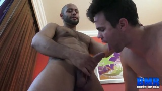 Beau Reed and Leo Forte at Breed Me Raw