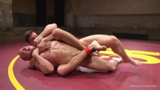 Jordan Boss and Jacob Durham at Naked Kombat