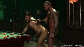 Michael Roman and Jack Andy at Raging Stallion