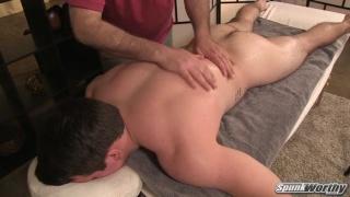 Kent's massage at Spunkworthy