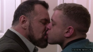 Ian Levine and Max Sargent at icon male