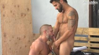 dirk Caber and Adam Ramzi at titan men