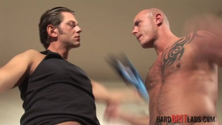 Lucas Knowles and Jake D at hard brit lads