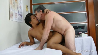 twink Russel gets dildo fucked at daddy's asians