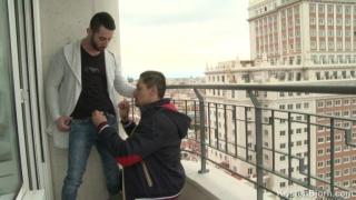 John Rodriguez and Alejandro Torres at kristen bjorn