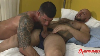 Aitor Crash and Adam Killian at alpha males