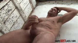 Jack Saxon at Hard Brit Lads