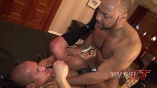 Ray Diesel fucks Tiago at Dark Alley XT