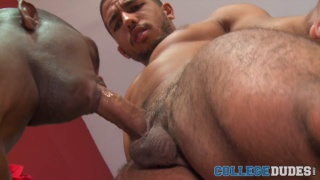Mike Maverick and Cory Woods at College Dudes