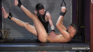 Get Down and Nasty For Me Part 1 at Bad Boy Bondage