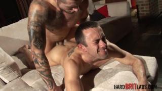 Troy Haydon and Caleb Ramble at Hard Brit Lads