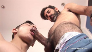 Giussepe and Jack at Bareback Me Daddy