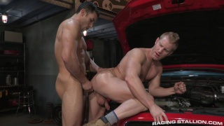 Ricky Decker and Johnny V at raging stallion