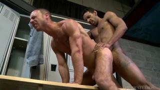 Jay Alexander and Jordan Belford at men over 30