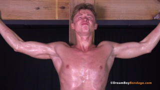 Russian Swimmer Alexei Part 4 at dreamboy bondage