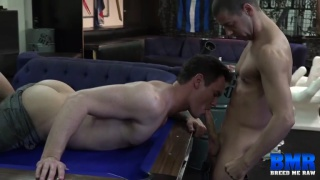 Tommy DeLuca and Beau Reed at breed me raw