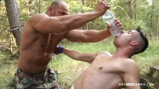 Just Do It! Episode 02 at gay war games