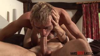 Luke Desmond and Leo Helios at hard brit lads