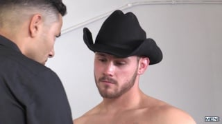 Trevor Long and Gabriel D'Alessandro at drill my hole
